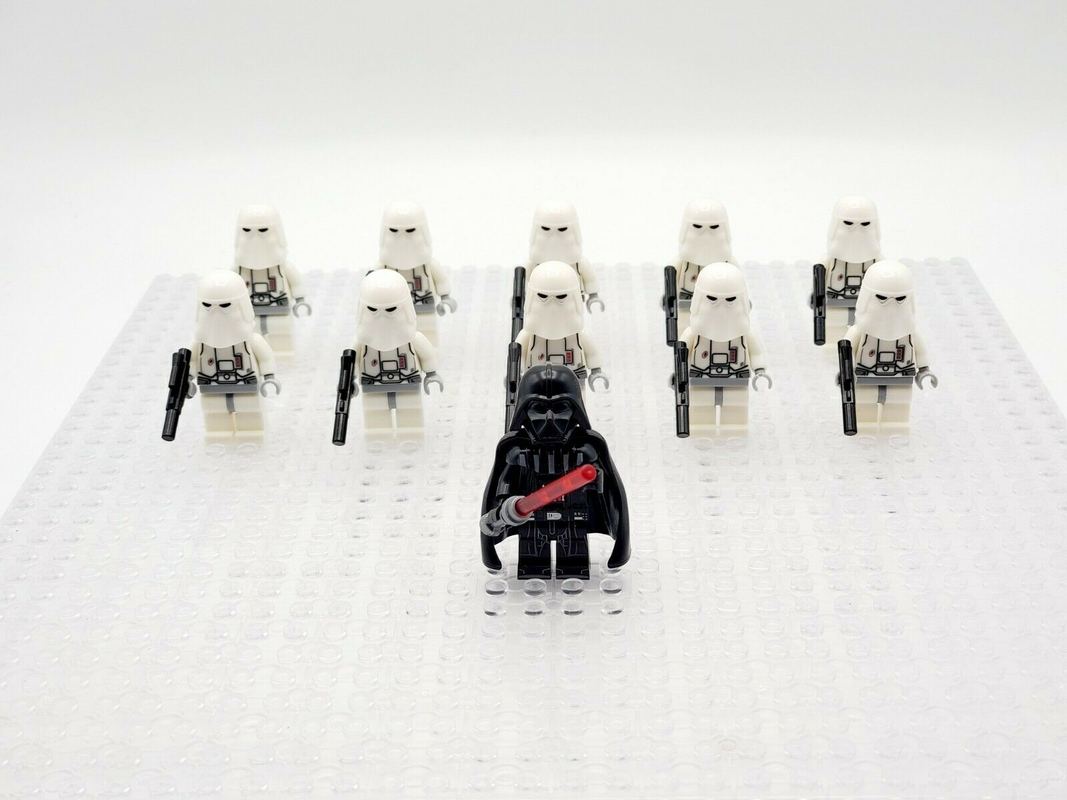 Snowspeeder 333 Block Lego Kids Toys Star Wars Battle Hoth 22 Minifigures Army